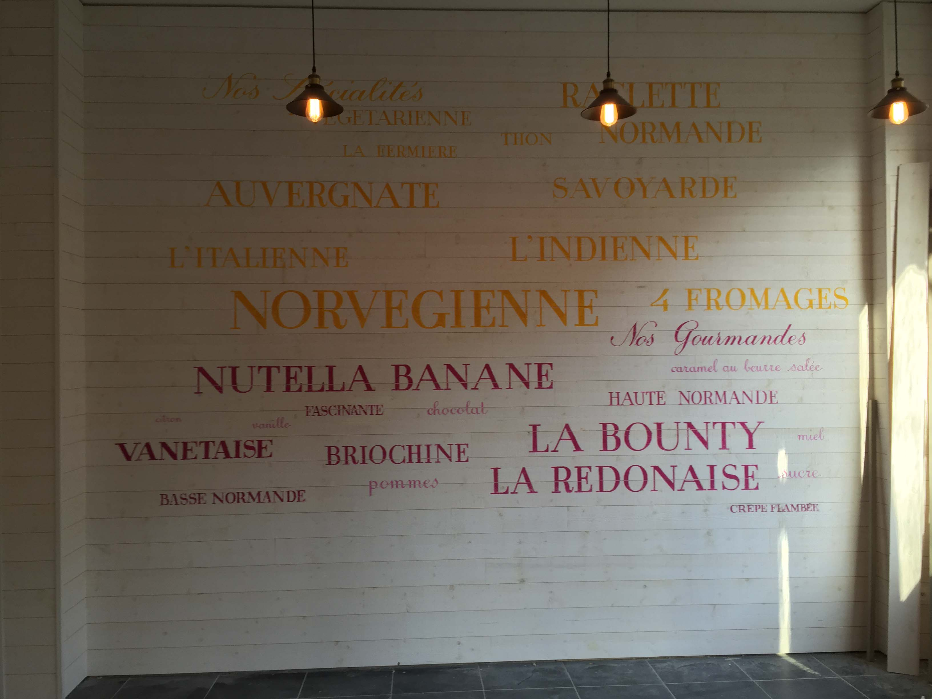 Peintre en lettres Paris et île de france